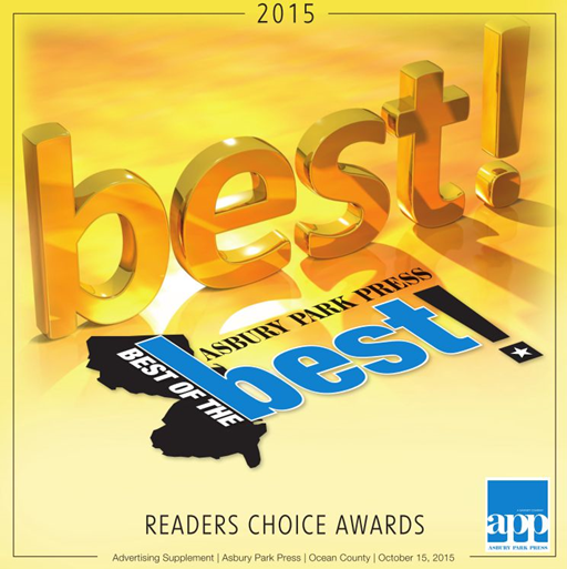 Asbury Park Press Best of the Best 2015 Readers Choice Awards